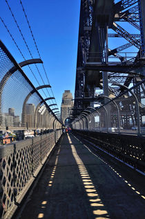 Walk Across Sydney Harbour Bridge von Kaye Menner