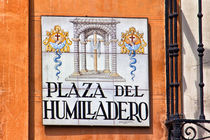 Madrid Street Sign von David Pringle