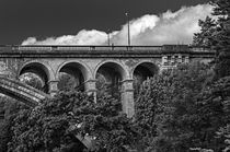 Luxembourg Bridge by Bernhard Rypalla