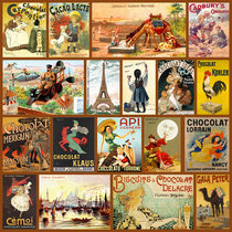 Vintage Chocolate Advertisements von vintage