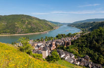 Bacharach mit Stahleck 40 by Erhard Hess