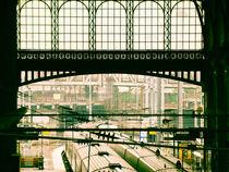 La Gare du Nord by Maria Fidalgo