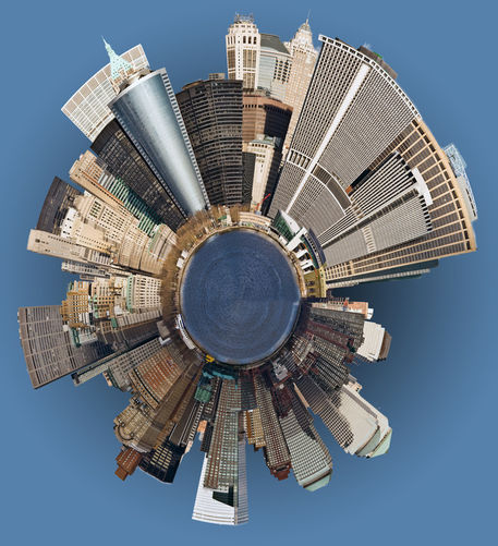 Manhattan-mini-planet