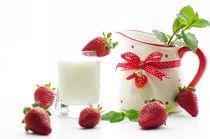 Erdbeeren Milchshake von Tanja Riedel