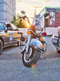 NYPD Harley by Steffen Klemz
