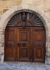 Door in Esslingen by safaribears