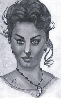 Sophia Loren von Bobby Dar