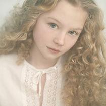 beautiful young lady by Vladimir Serov