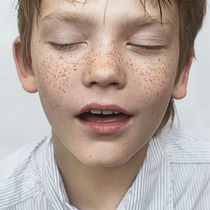 boy with freckles by Vladimir Serov