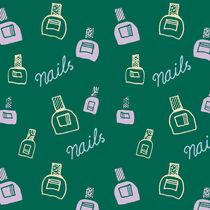 Nails Pattern by Tasha Goddard