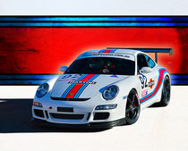 Porsche 911 GT3 Martini von Stuart Row