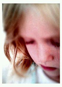 Sad Girl von Mette Hiort-Lorenzen