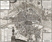 Paris 1643 by vintage