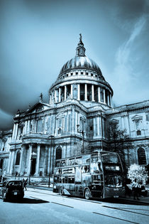 St Paul's Cathedral London Art von David Pyatt