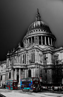 St Paul's Cathedral London Art by David Pyatt
