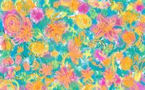 Sweet Flower Pattern 1 by aleksia
