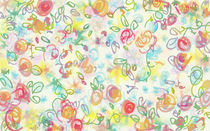 Sweet Flower Pattern 2 von aleksia