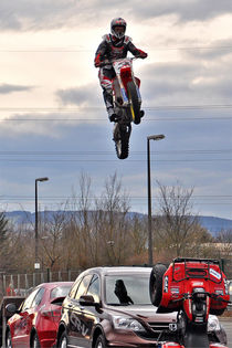 Motorrad-Akrobat, Stuntfahrer von shark24