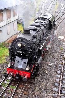 Dampfzug, Dampflok, Eisenbahn, Historisch by shark24