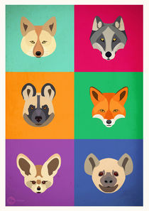 Canidae Attitudes by Hey Frank!