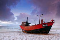 Fischerboot-ostsee