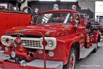 Feuerwehrauto USA, amerikanisches Feuerwehrauto von shark24