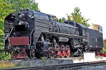 Dampf-Schnellzug, Züge, Eisenbahn von shark24