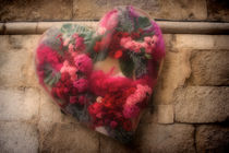 Flowers in the heart von Laura Benavides Lara