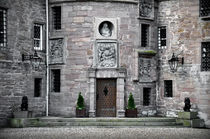Glamis Castle. Doorway