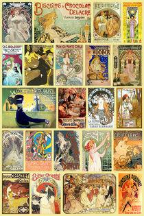 Art Nouveau Advertisement Collection by vintage