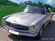 Mercedes 280SL-Pagode, Oldtimer, Klassiker von shark24