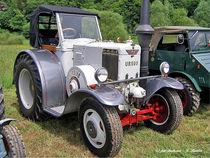 Schöner alter Ursus-Traktor von shark24