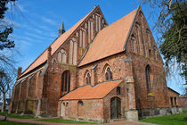 Kirche Wiek - Rügen by Jörg Hoffmann