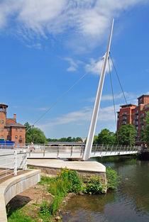 Cathedral Green Footbridge, Derby von Rod Johnson