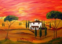'Hitze der Toskana   Heat of Tuscany' by Christine Huwer