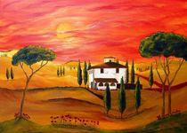 Hitze der Toskana   Heat of Tuscany von Christine Huwer
