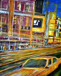 New York Yellow Cab von Matthias Rehme