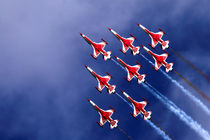 aircraft flying in formation  by marunga