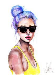 Blue Bun von Bella Harris