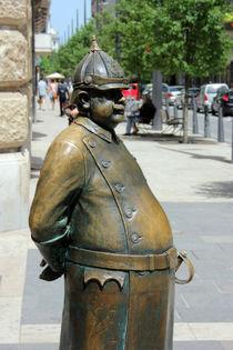 Bronze Hungarian Policeman by Dan Davidson