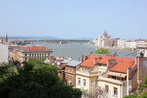 Budapest Rooftops von Dan Davidson