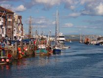 Weymouth Harbor von Malcolm Snook
