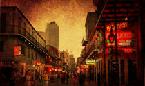 Bourbon Street Grunge by Judy Hall-Folde