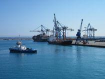 Limassol Port by Yossi Aharon