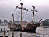 Kogge, altes Segelschiff, Schiffahrt von shark24