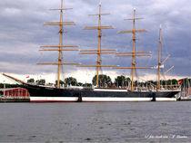 Die Pamir im Hafen von Travemünde von shark24