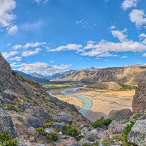 Valley of El Chalten 1:1 von Steffen Klemz