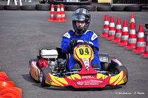 Kartrennen, Kart-Sport, Kart-Slalom von shark24