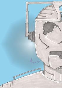 Cyber Half-Portrait by Antony McGarry-Thickitt