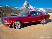 Ford Mustang 351 Boss, Klassiker von shark24